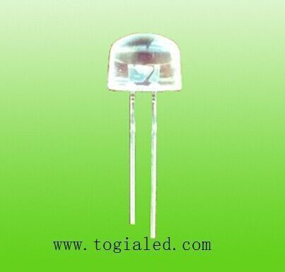 8MM OVAL LAMP LED WHITE LED